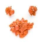 Komplet biżuterii koralowej Neapol(?)