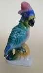 Figurka porcelanowa Steatyt - Papuga