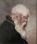 Artysta  NIEZNANY Portret starca