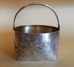 Koszyczek srebrny