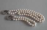 Naszyjnik i bransoletka z pereł