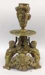Neomanierystyczny świecznik z brązu