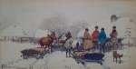 Adam SETKOWICZ Scena zimowa