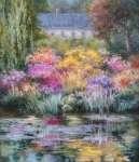 Krystyna JASIŃSKA Ogród Giverny