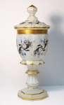 Puchar biedermeier z pokrywą, ok. 1850