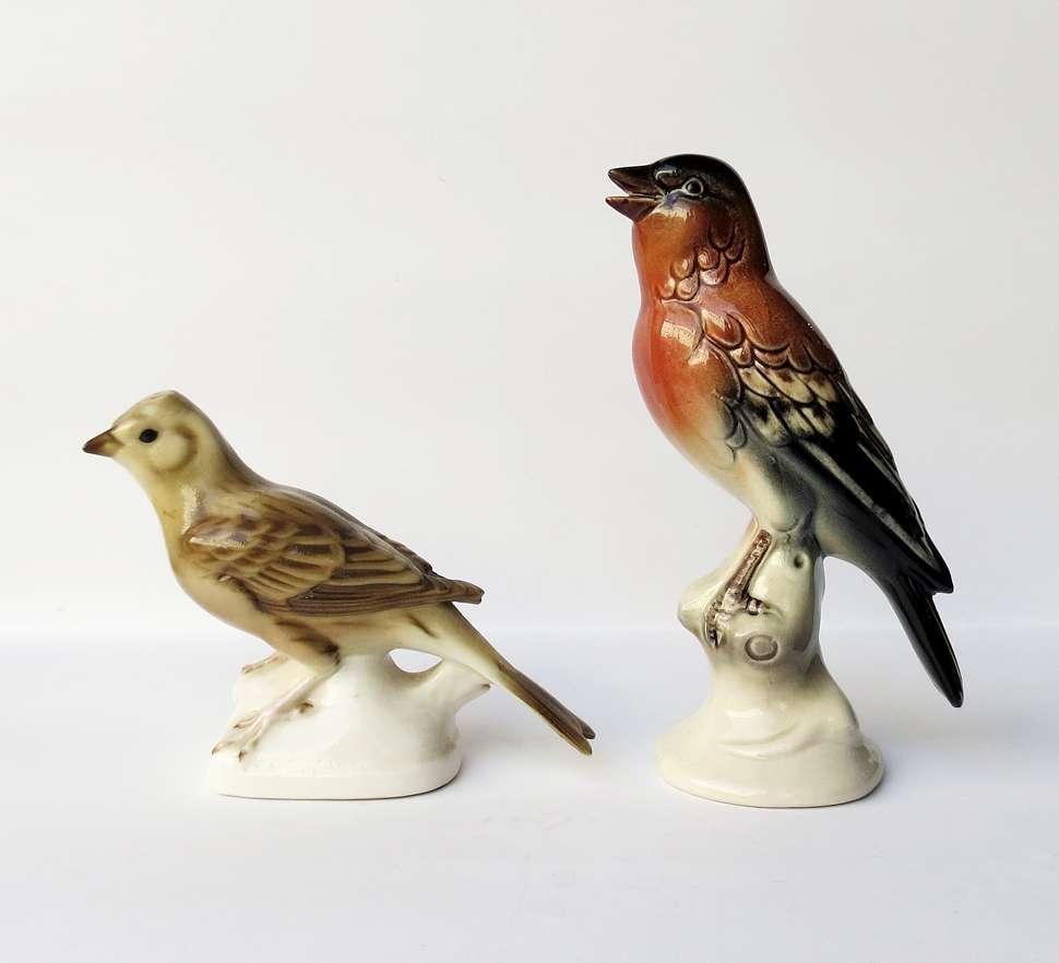 Figurki ptaków