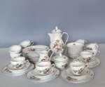 Serwis porcelanowy do kawy Tirschenreuth na 12 osób