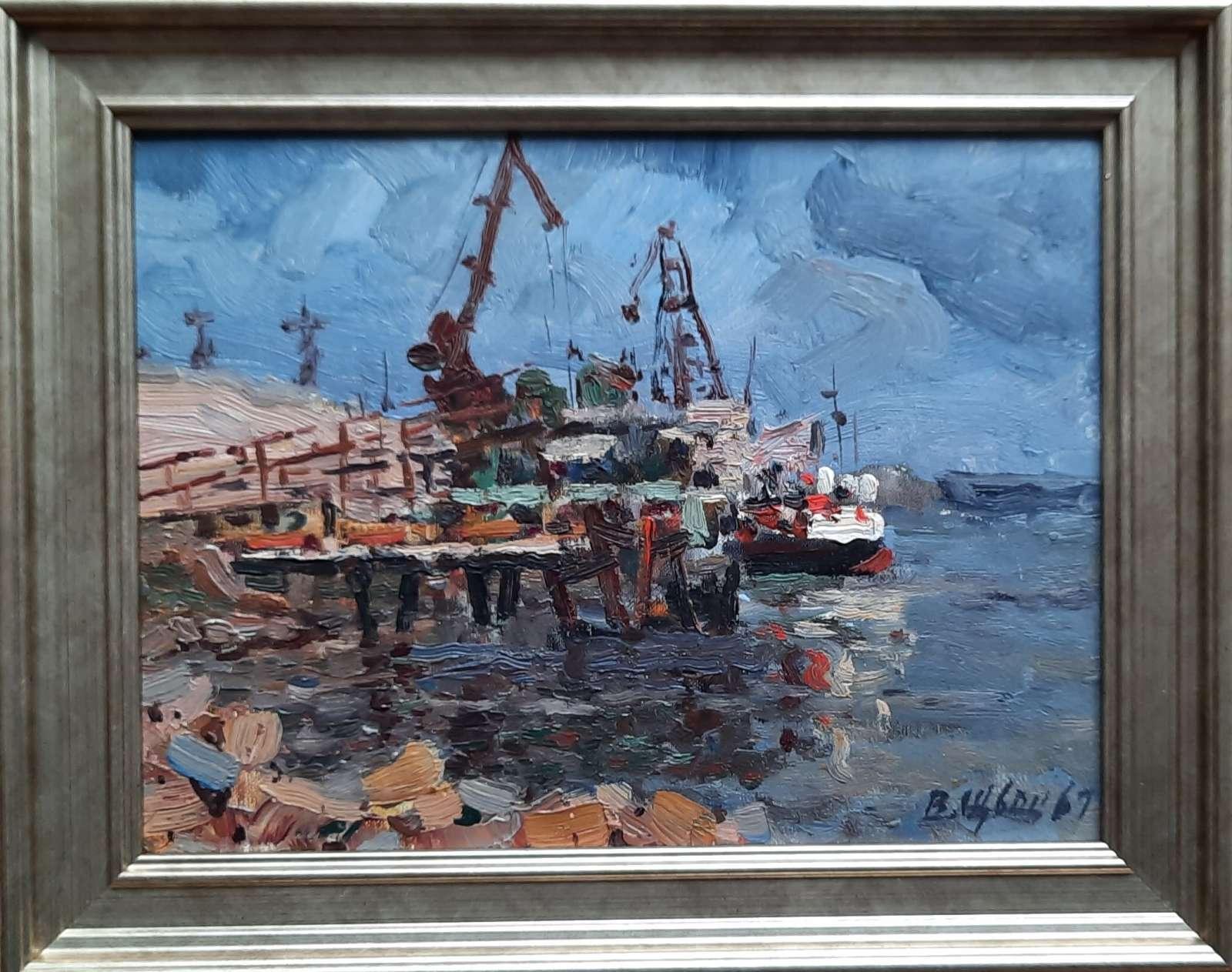 Port - Zaporoże, 1967 r.