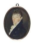 Artysta  NIEZNANY Miniatura portret mężczyzny