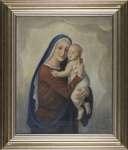 Józef UNIERZYSKI Madonna z dzieciątkiem