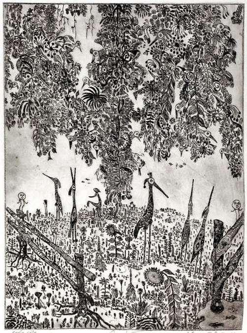 Ogród XVIII