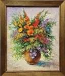 Józef ŁĄCKI - Kwiaty w wazonie