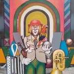 Jan NOWAK - Cyrk VIII - Clown z papugą