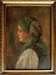 Kasper ŻELECHOWSKI Dziewczyna w zielonej chuście