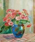 Irena NOWAKOWSKA-ACEDAŃSKA Różowe kwiaty