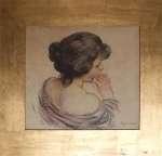Józef MEHOFFER Portret zamyślonej kobiety