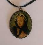 Jadwiga KISSEL-BARNAT Medalion - miniatura