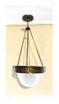 Lampa wisząca jednopłomienna