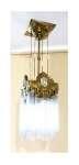 Lampa wisząca z szklanymi prętami