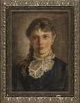 Władysław ŚWIERZYŃSKI Portret młodej kobiety