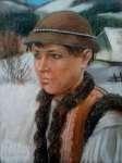 Tadeusz ZAKRZEWSKI Portret młodego górala