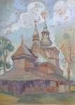 Irena NOWAKOWSKA-ACEDAŃSKA Kościół w Mikuszowicach
