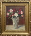 Irena NOWAKOWSKA-ACEDAŃSKA Róże w wazonie