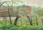 Irena WEISS-ANERI Ogród z jabłoniami