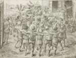 Wilhelm WACHTEL Zabawa w Kibucu z cyklu ,,Palestyna''