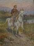 Władysław STACHOWSKI Strzelec na koniu
