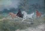 Edward MESJASZ Konie w galopie