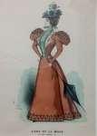 Karta z żurnala mody paryskiej