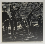 Henryk BARANOWSKI Dziewczęta na plaży