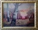Perec WILLENBERG Pejzaż jesienny
