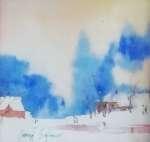 Georgij SAFRONOW Pejzaż zimowy