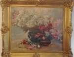Zdzisław JASIŃSKI Martwa natura z bukietami kwiatów