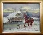 Edward MESJASZ Ułan na koniu
