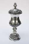 Srebrny puchar z pokrywą Jan Pogorzelski