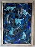 Krystyna PALCZEWSKA Blue cat