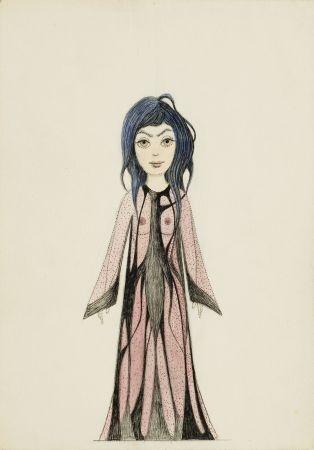 9. Kobieta w długiej szacie