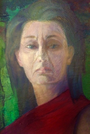 Autoportret czerwony