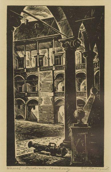 Wawel - dziedziniec zamkowy