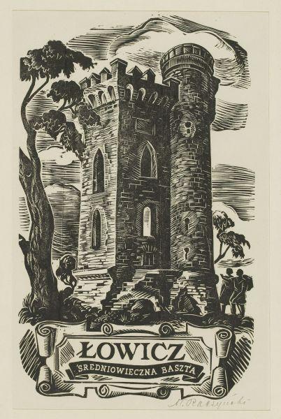 Łowicz - średniowieczna baszta