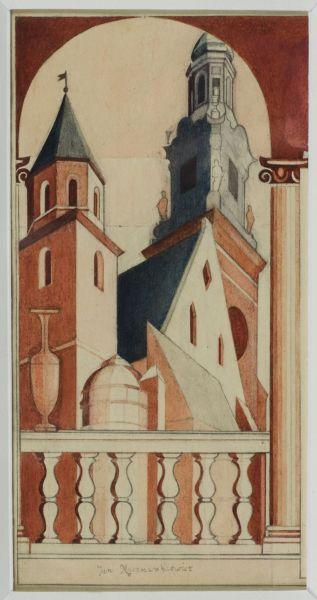 Wieże Katedry Wawelskiej