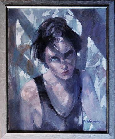 Z cyklu W cieniu - Portret