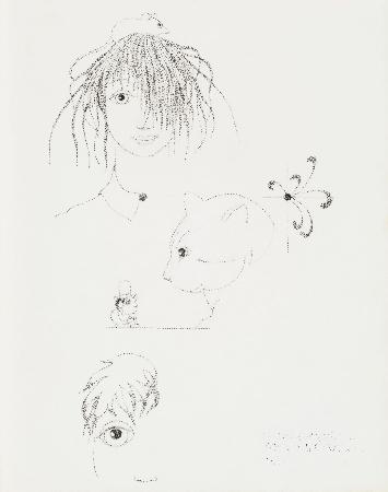 88. Bez tytułu - dziewczyna z myszką i inni