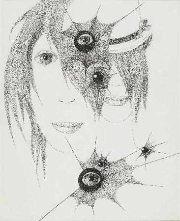 103. Kompozycja surrealistyczna - twarze i oczy