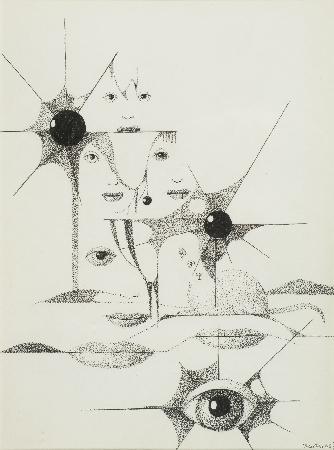17. Kompozycja - z cyklu Cień kota