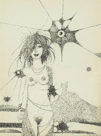 21. Kompozycja - z cyklu Cień kota