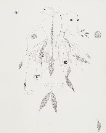 38. Kompozycja z oczami i zwierzętami